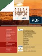 Atlas de radiación solar, ultravioleta y ozono de Colombia.pdf