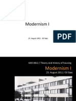 Modernism I (3)