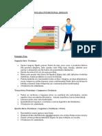 escada nutricional
