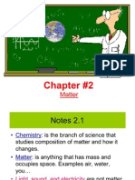 Nat Sci Chapter 2 Notes