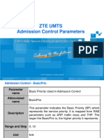 Training Material_UMTS Admission Control Parameters