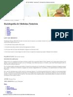 LEY de HERING - Mednaturis - Enciclopedia de Medicina Naturista