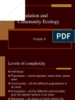 Ch 6 Population and Community Ecology