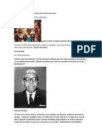 Apuntes Sobre El Origen y Práctica Del Vudú Dominicano