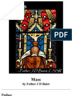Mass, by Father J D Buist, C.SS.R.