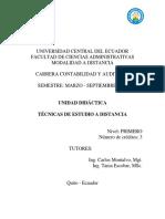 Unidad Didactica Tecnicas de Estudio
