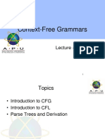 COMT Lecture 6-CFG