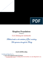 Kingdom Foundations Lesson 2 - PowerPoint