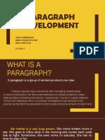 Paragraph Development GROUP 7 - 3Civil1 + quizz 1 FIXXXXX