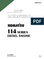 KOMATSU SHOP MANUAL ENGINE  114E-2 Series.pdf
