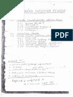 Mehanika fluida - 002 FIZIČKA SVOJSTVA FLUIDA - Skripta u Rukopisu - Prof. Dr Petar Vukoslavčević
