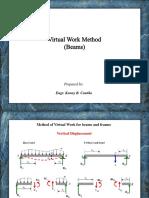 Virtual Work Method (Beams)