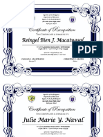 Certificate Top