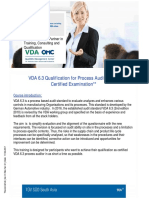 146_3_VDA 6.3 Qualification for Process Auditor With Certified Examinati...