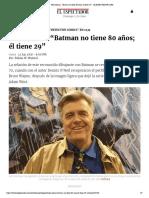 """Neal Adams_ """"Batman no tiene 80 años; él tiene 29"""" - ELESPECTADOR.COM"""