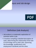 Job Analysis and Job Design2