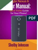 Nexus 6 Manual