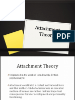 Attachment Theory Report