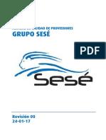 Manual Calidad Proveedores Grupo Sese 24-01-17 Rev00