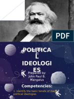 Lesson 2 - Political Ideologies