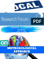 Local Research Forum Sir Edwin(PDF)