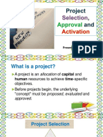 Project Selection, Approval and Activation E. Agtarap.pptx
