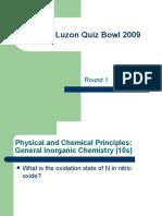 Quiz Bowl 2009