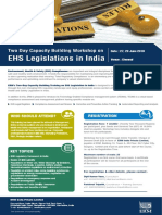 EHS Legislations