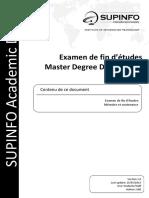 SUPINFO Master Degree Dissertation