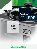 RICETTARIO SLOW COOKER  cuisinart.pdf