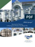Belle Époque - Itinerarii Art Nouveau - Prospect