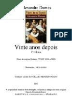 Alexandre Dumas - Vinte Anos Depois - Vol-1