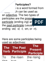 What Are Participles