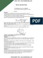 ICSE Class 10 Physics Sample Paper.pdf