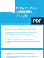 The Extra Plus in Leadership