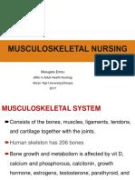 musculoskeletalnursing-171106105453