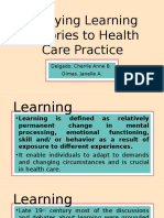 Health Education - Learning