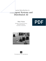 Multiagent Systems and Distributed AI