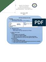 Teacher Grace - Lesson Plan (EAPP)