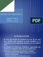 2. Presentación II - DISEÑO DE PROCESOS