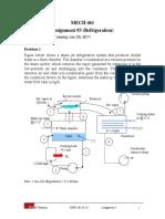 Assignment 3_Refrigeration_w Solution (1)