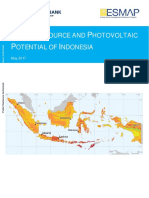 115347 ESM P145273 PUBLIC IndonesiaSolarResourcePotentialWBESMAPMay