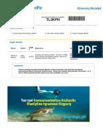 Itinerary PDF MJJ