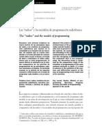 Modelos de Programación Radiofónica