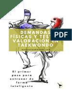 Mas Que Taekwondo - eBook - Demandas Físicas y Test de Valoración en Taekwondo