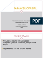 Trauma Maksilofasial