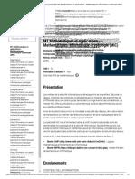 Université Paris Diderot _ Université _ M1 Mathématiques Et Applications - Mathématiques-Informatique-cryptologie (MIC)