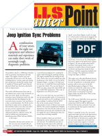 Jeep Ignition Sync Problems