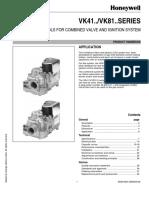 Honeywell VK41xx, VK81xx Handbook (Eng)