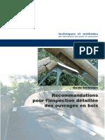 Recommandations Pour l'Inspection Détaillée Des Ouvrages en Bois